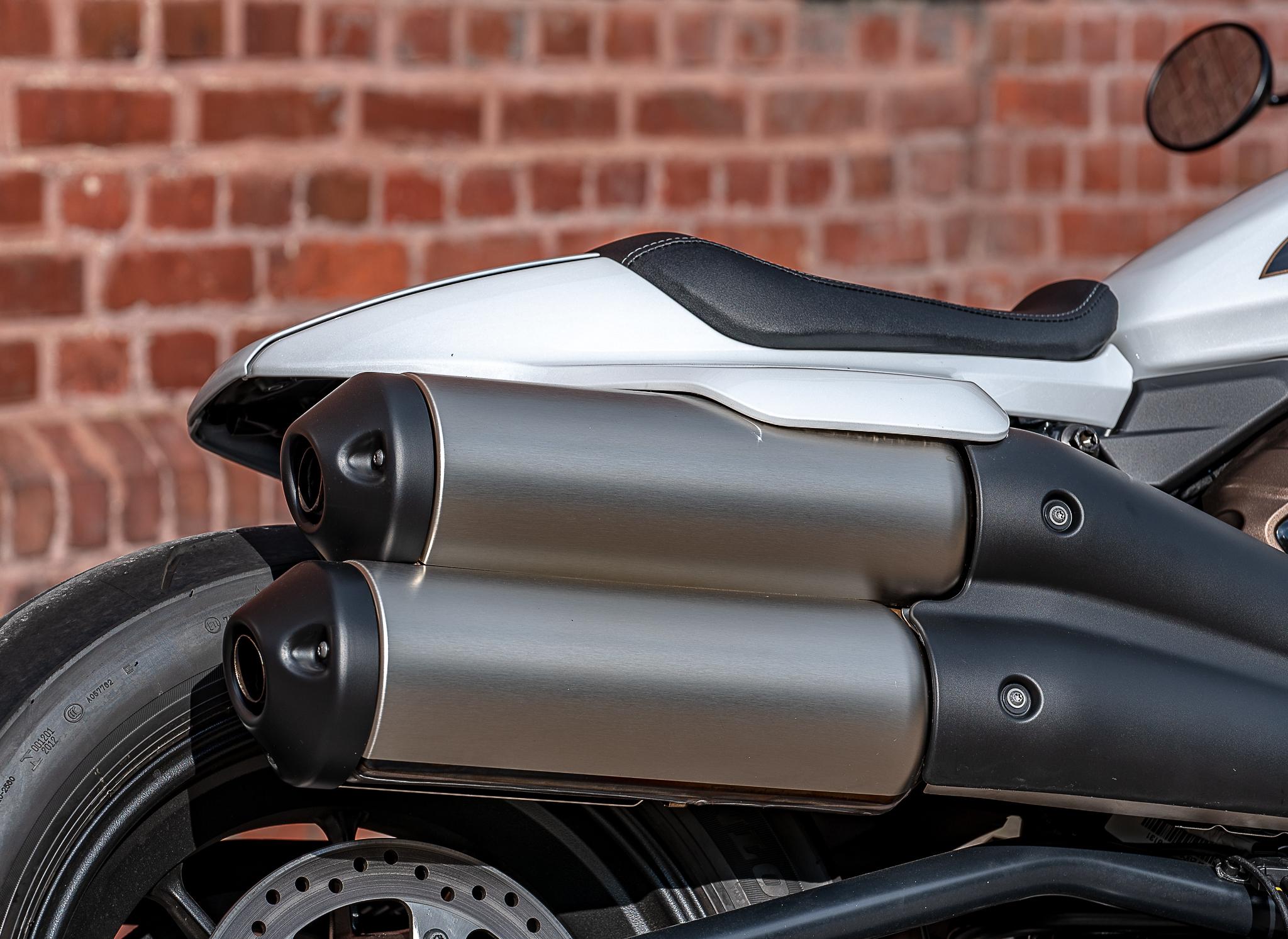 Harley-Davidson échappement