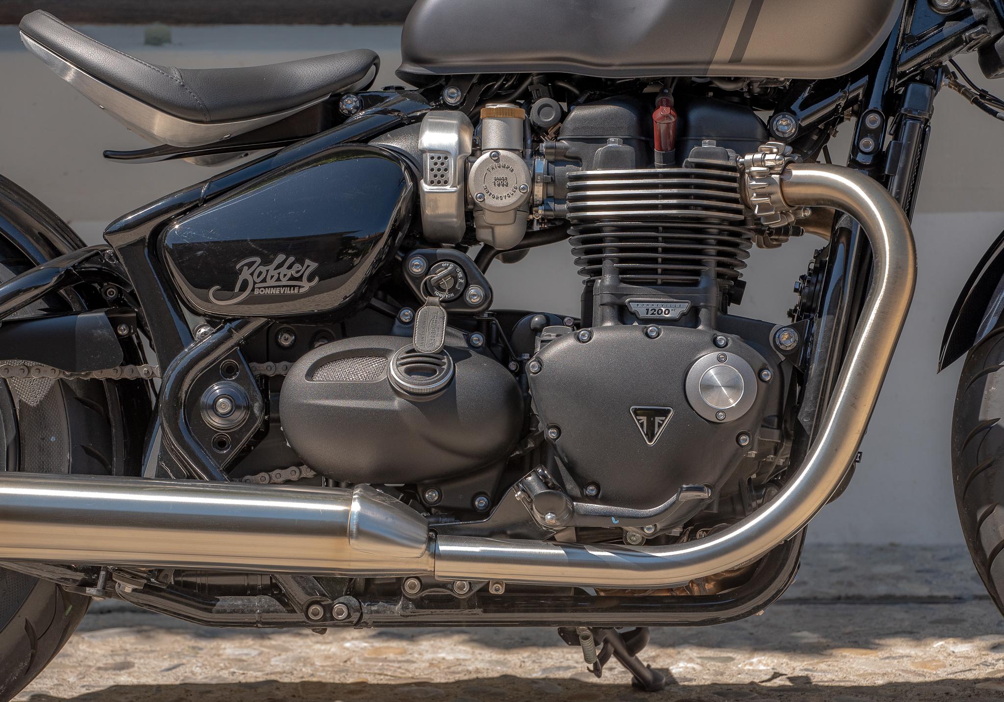 Triumph moteur