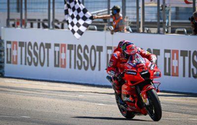 Pecco Bagnaia remporte sa première victoire en MotoGP à Aragon! :: MotoGP 2021