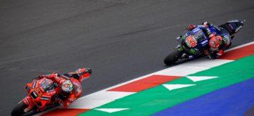 Le Grand Prix de San Marino remporté par Bagnaia, devant Quartararo