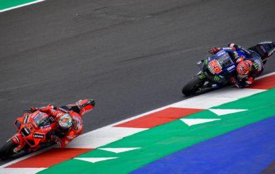 Le Grand Prix de San Marino remporté par Bagnaia, devant Quartararo :: MotoGP Misano