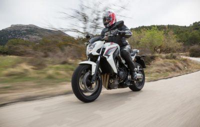 Honda CB 650, le nouveau roadster nerveux pour débutants :: Honda