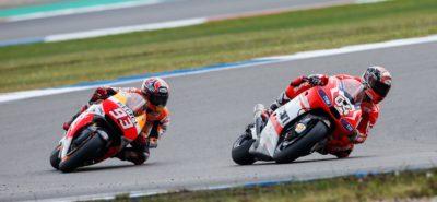 Cette fois, à Assen, c'est Dovizioso que Marquez dépasse pour gagner la course :: Actu, Sport