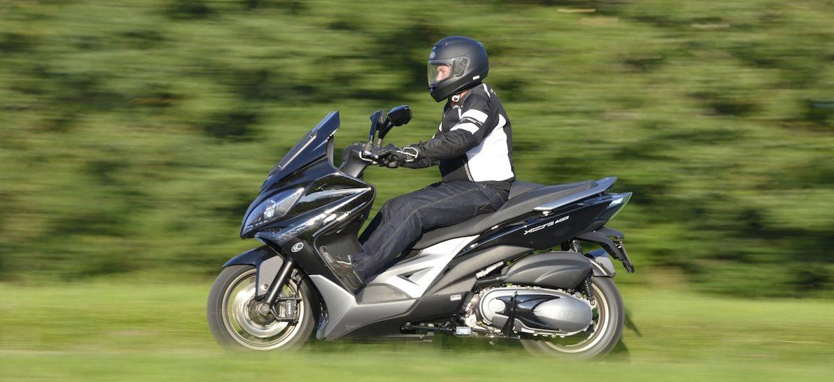 Un maxi-scooter malin chez Kymco