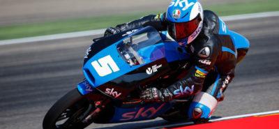 Moto3 à Aragon: La victoire pour Fenati et la tête du Championnat pour Márquez :: Sport