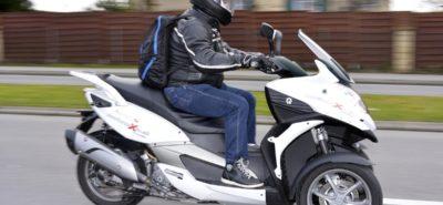 Un trois-roues suisse à l'essai, le Quadro :: Quadro