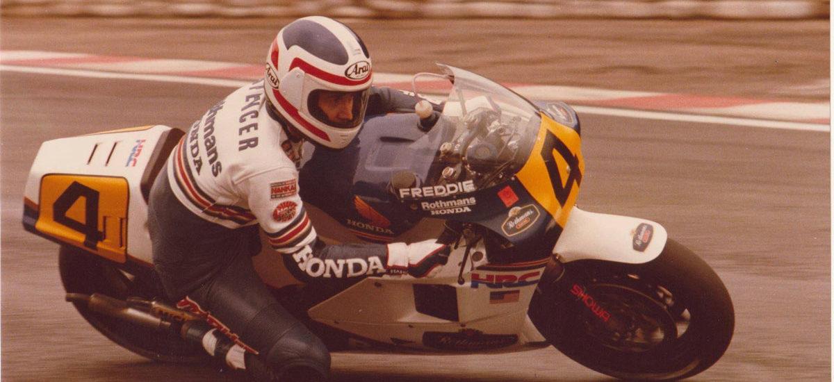 Honda sort le grand jeu à Swiss-Moto et fait venir Freddie Spencer