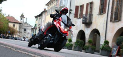 Quadro n'a plus d'importateur en Suisse, mais distribue soi même ses trois et quatre roues inclinables :: Actu, Scooters