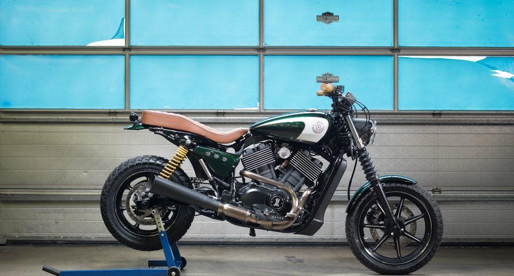 Les garages Harley d'Europe (et de Suisse) tentent de réaliser la meilleure transformation de Street 750