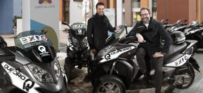 Quadro est le trois-roues officiel de l'Expo 2015 universelle de Milan :: Actu, Scooters