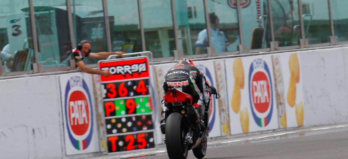 Torres et son Aprilia dominent les derniers essais libres à MIsano