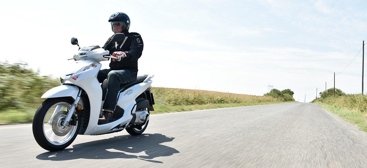 Honda SH300i – Roi des villes et roi des champs