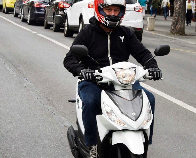 Léger, pas cher et pratique, le Suzuki Address