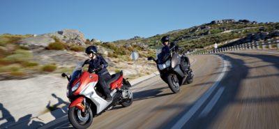 Les maxiscooters BMW plus réactifs au feu et avec l'antipatinage :: Actu, Scooters