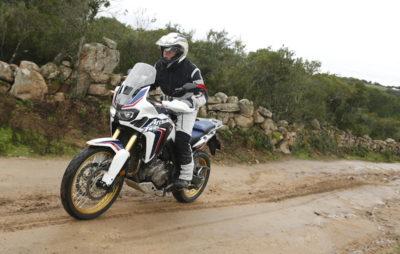 Deuxième essai de l'Africa Twin 2016; après l'Afrique du Sud aride, la Corse humide :: Test Honda