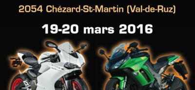 L'expo deux-roues neuchâteloise, c'est ce week-end à Chézard :: En bref, Nouveautés 2016
