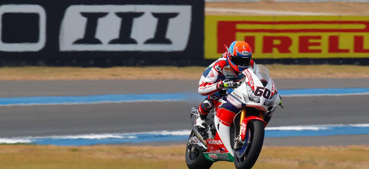 Superbike Thai Round – Van der Mark domine, Schmitter non qualifié!