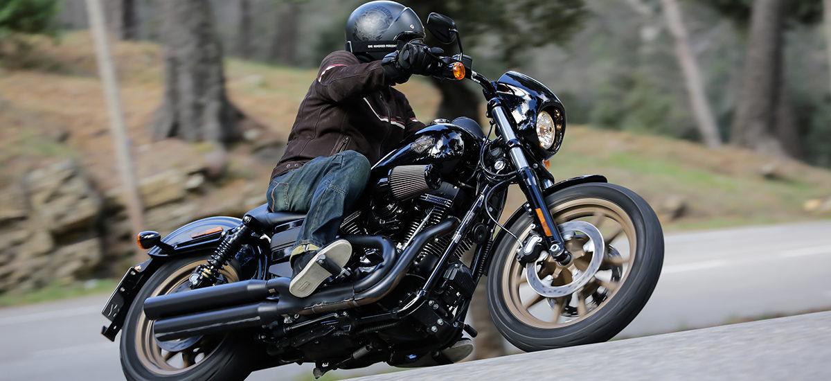 «Noir c'est noir» avec la Low Rider S