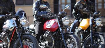 Moto Guzzi fait son show