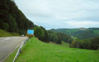 Balade des trois cantons, de Delémont aux Rangiers :: Cols jurassiens