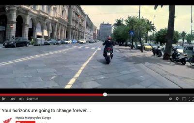 Première vidéo officille du scooter «Adventure» de Honda :: Teaser