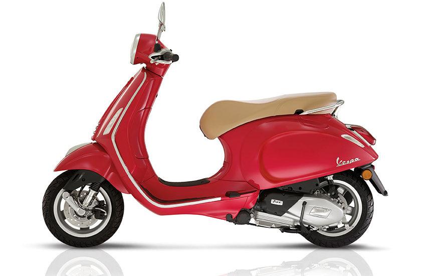 Nouvelle motorisation pour les Vespa Primavera et Sprint