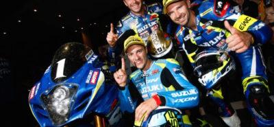 L'équipe Suzuki gagne le championnat d'endurance :: Sport