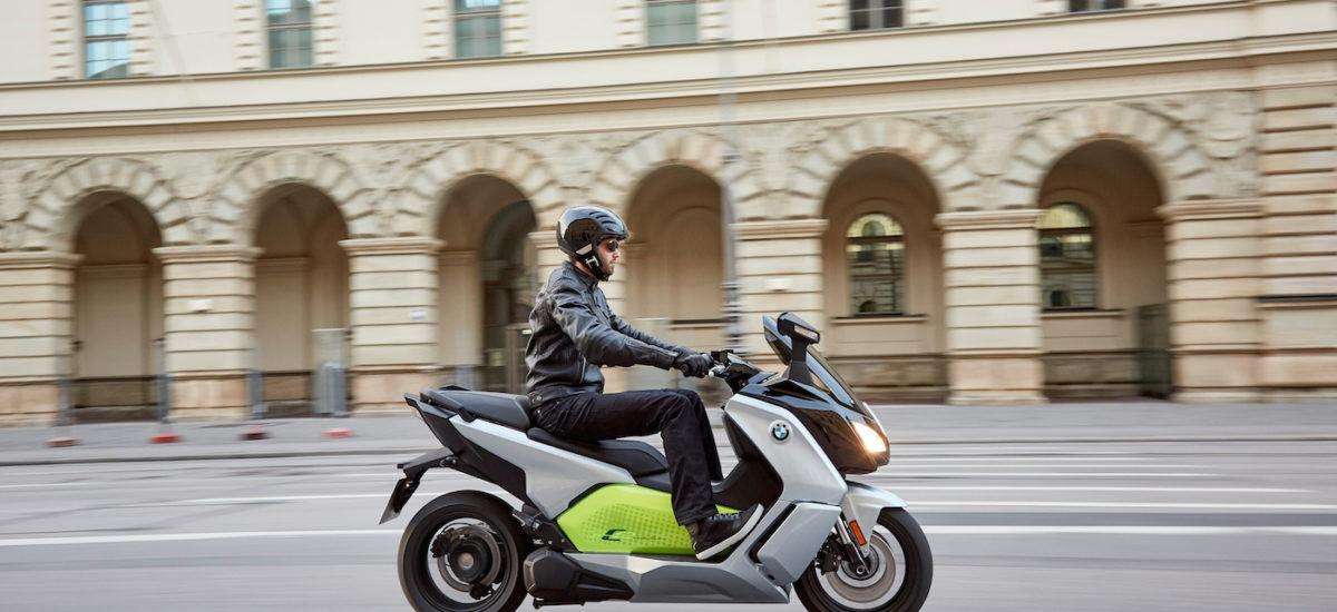 Le maxiscooter BMW C Evolution se refait une autonomie