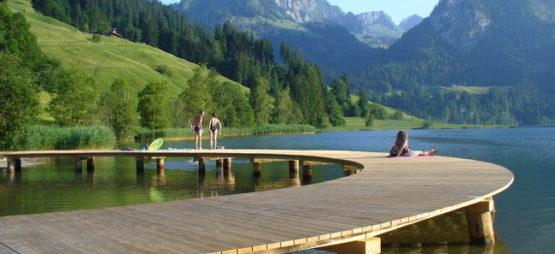 Le Lac noir (Schwarzsee)