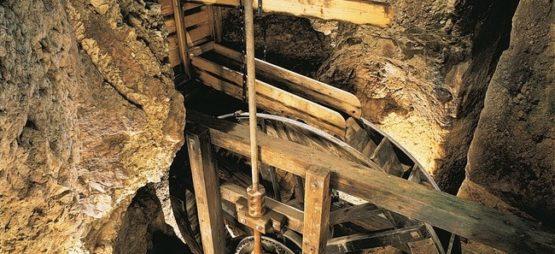 Moulins souterrains du Col des Roches
