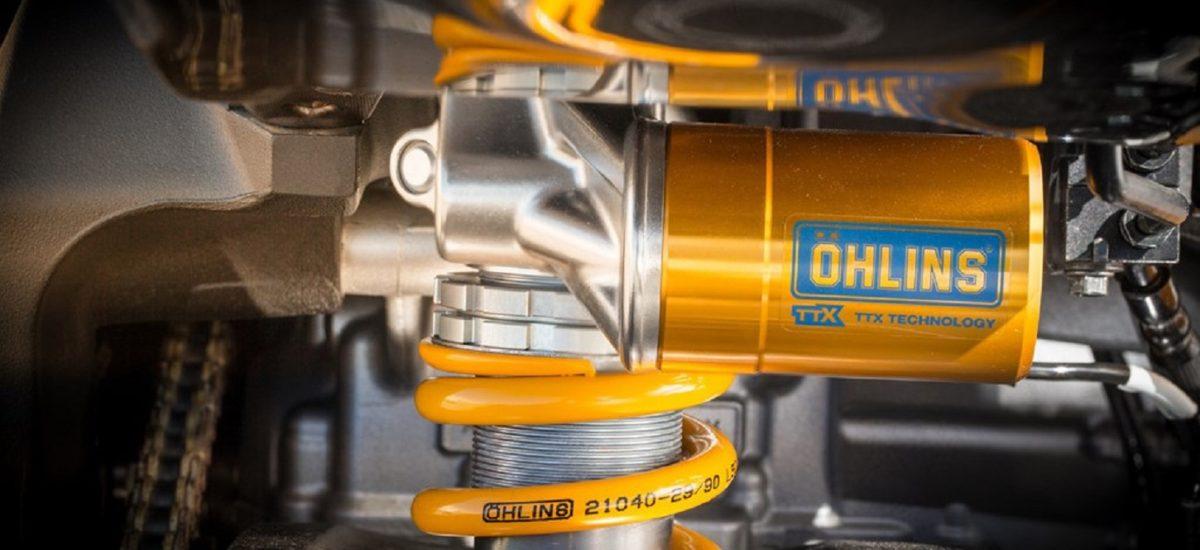 Nouveau, les suspensions Öhlins directement dans le réseau Yamaha