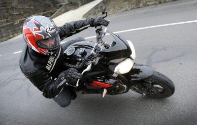 La Street Triple, la moto émotion, au régime minceur :: Test Triumph