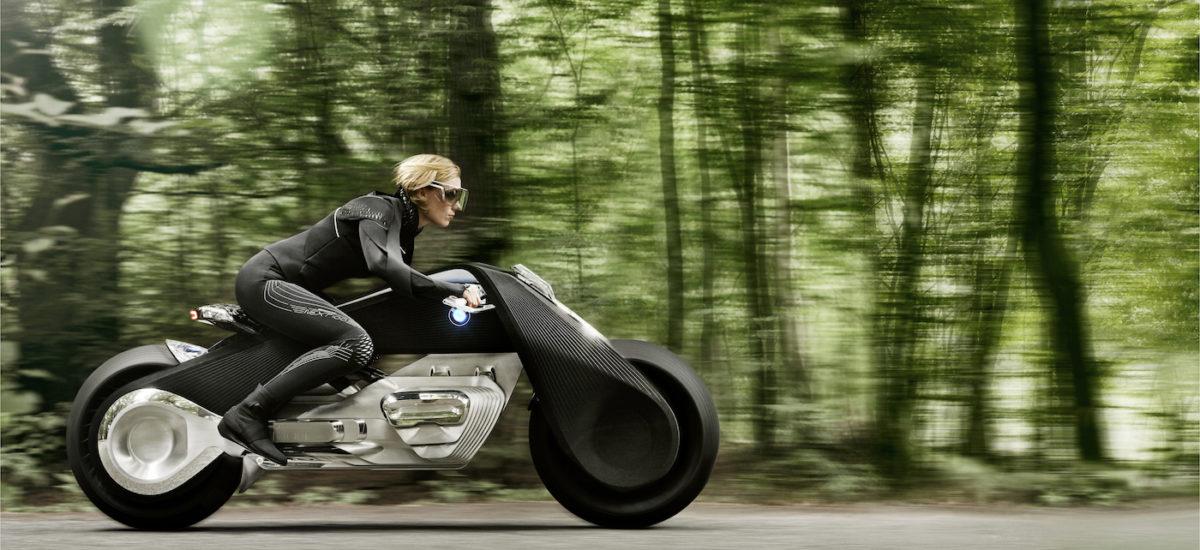 BMW dévoile sa Vision de la moto du futur