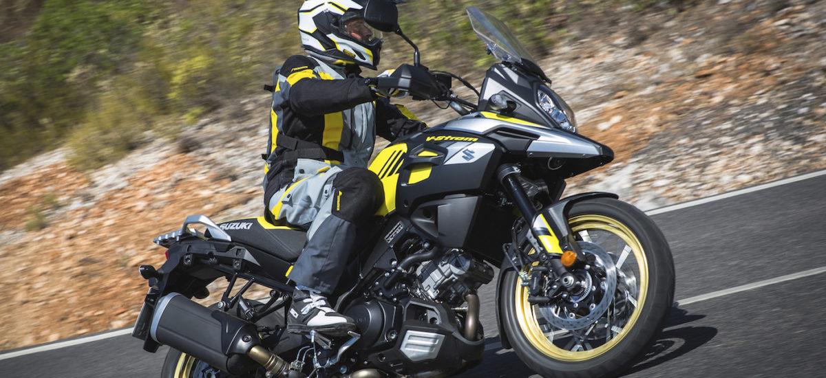 Un ABS de virage pour le grand Suzuki V-Strom