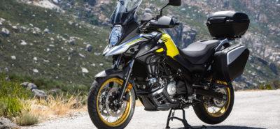 Le «petit» Suzuki V-Strom revient en force, avec le contrôle de traction :: Nouveauté 2017