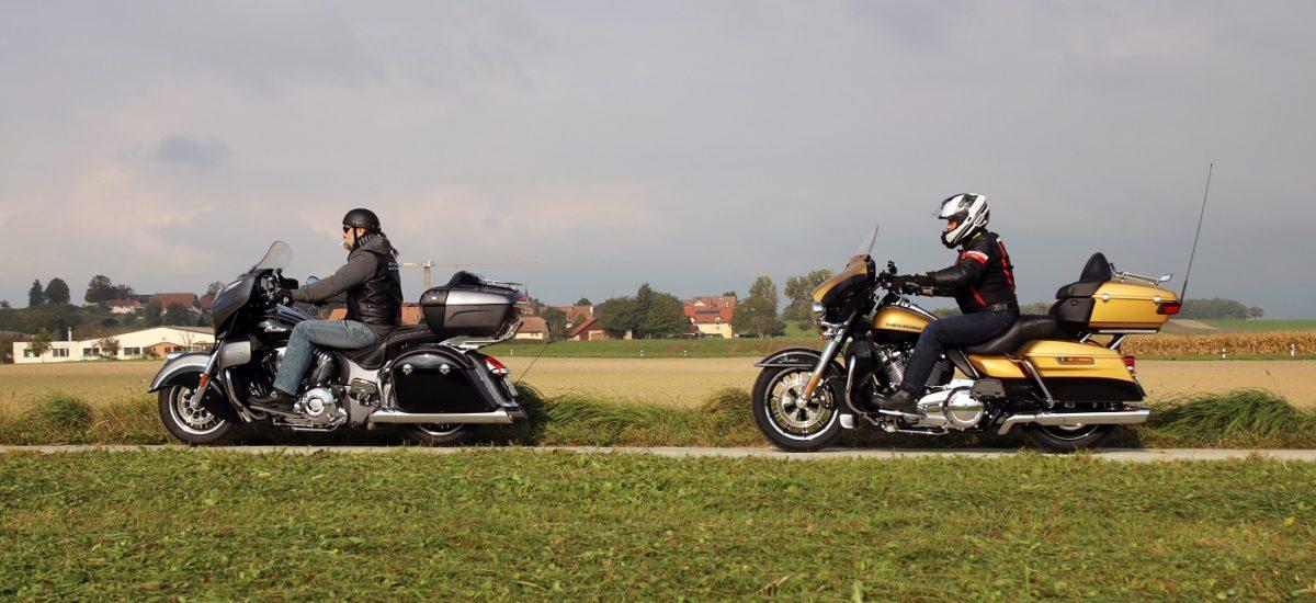 Duel au sommet du touring entre Harley-Davidson et Indian