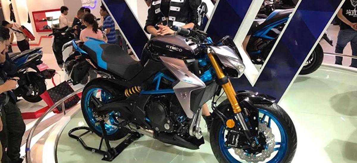 Kymco va lancer une nouvelle K-Rider d'origine Kawasaki
