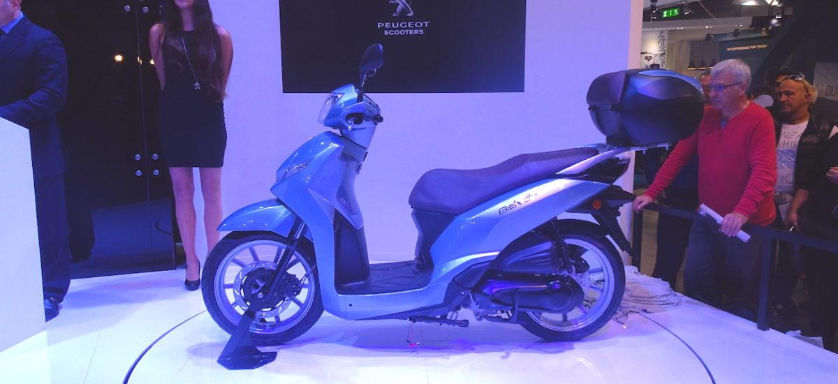 Le Belville, un nouveau scooter roues hautes chez Peugeot