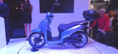 Le Belville, un nouveau scooter roues hautes chez Peugeot :: Nouveautés 2017