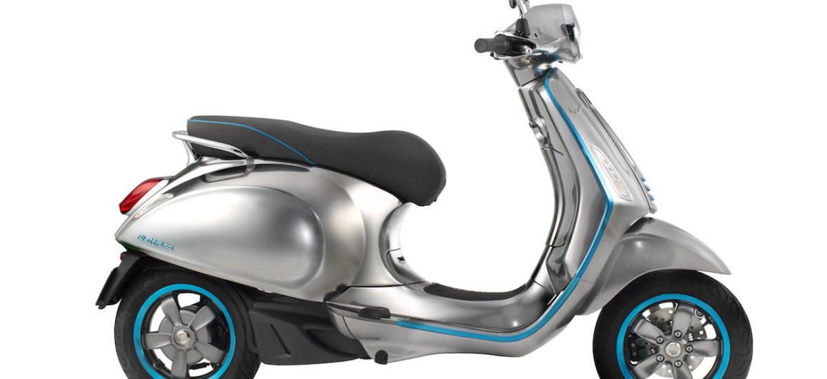 Piaggio annonce la Vespa électrique pour 2017