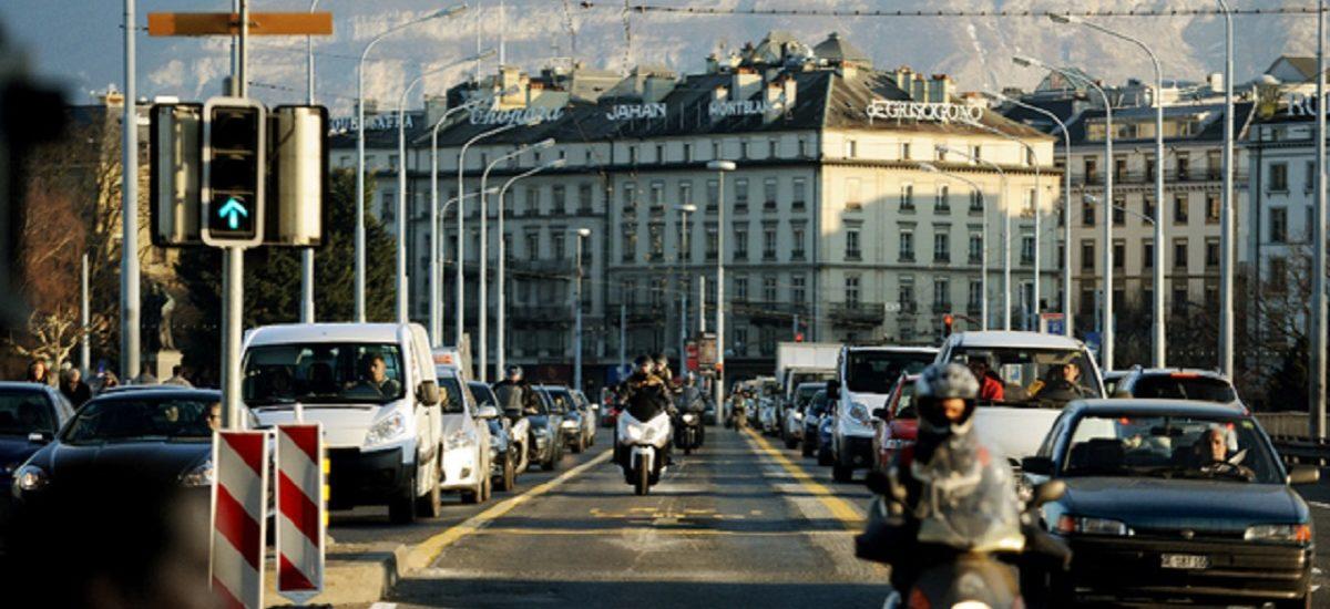 Grosse volée d'amendes pour les motos et les scooters à Genève