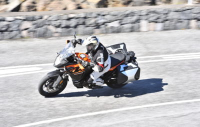 Belle évolution pour l'affûtée 1090, l'Adventure plus simple :: Test KTM