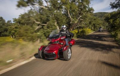 Les Spyder F3, ou le fun sur trois roues :: Test Can Am