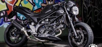 Un concess' Suzuki genevois réalise la SV 650 Café Racer pour tous :: Personnalisation