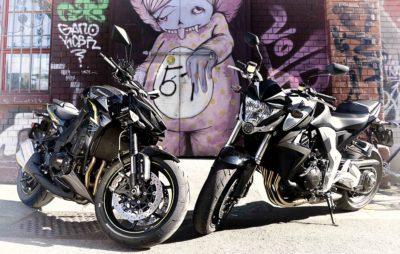 Z 1000 R – CB 1000 R: deux grosses brutes sur le retour :: Comparo maxi-roadster