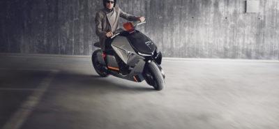 Voici comment BMW voit le scooter électrique du futur :: Concept