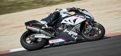 La BMW HP4 Race, en carbone, puissante, légère, exclusive :: Série limitée