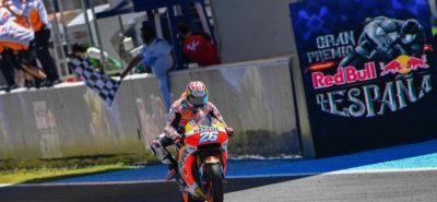 Pedrosa gagne pour la première fois cette année, devant Marquez :: MotoGP Jerez