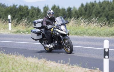 Un bec et une dose de modernité pour la «petite» V-Strom :: Test Suzuki
