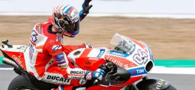 Coup double pour Dovizioso qui gagne la course et prend la tête du championnat :: British Grand Prix MotoGP